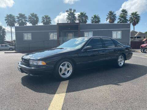 1996 Chevrolet Impala for sale at Barrett Auto Gallery in San Juan TX