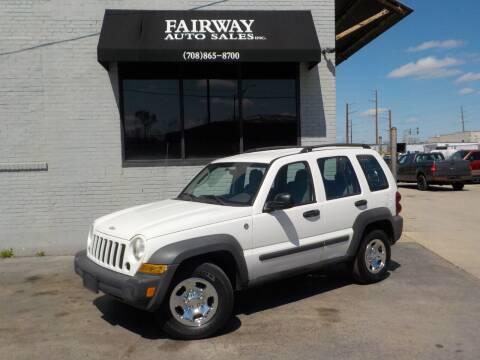 2006 Jeep Liberty for sale at FAIRWAY AUTO SALES, INC. in Melrose Park IL