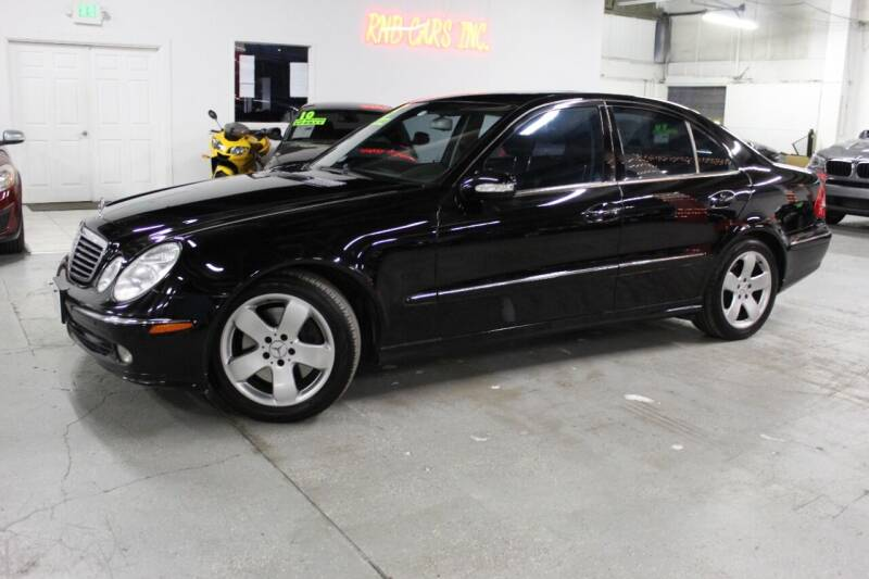 2005 Mercedes-Benz E-Class for sale at R n B Cars Inc. in Denver CO