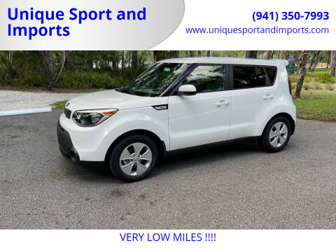 2016 Kia Soul for sale at Unique Sport and Imports in Sarasota FL