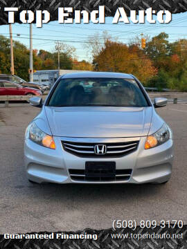 2012 Honda Accord for sale at Top End Auto in North Atteboro MA