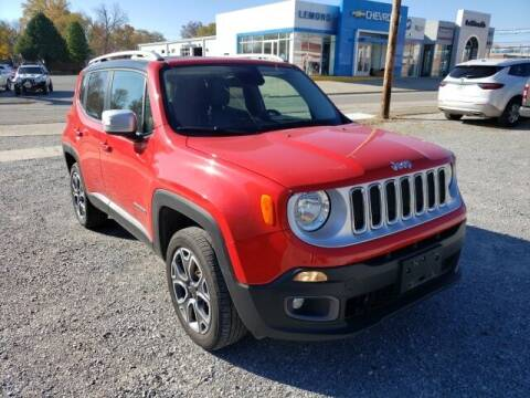 2016 Jeep Renegade for sale at LeMond's Chevrolet Chrysler in Fairfield IL