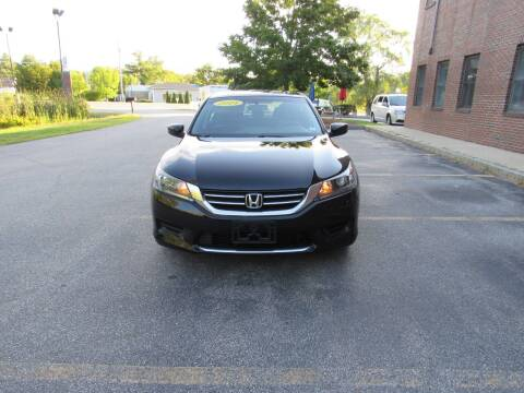 2014 Honda Accord for sale at Heritage Truck and Auto Inc. in Londonderry NH