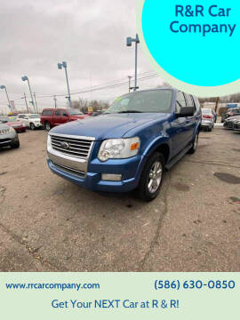 2009 Ford Explorer for sale at R&R Car Company in Mount Clemens MI