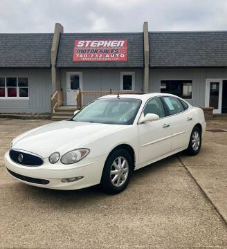 2005 Buick LaCrosse for sale at Stephen Motor Sales LLC in Caldwell OH
