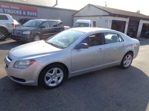 2010 Chevrolet Malibu for sale at Aspen Auto Sales in Wayne MI