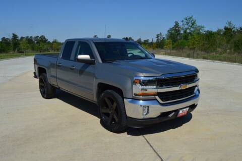 2017 Chevrolet Silverado 1500 for sale at Fincher's Texas Best Auto & Truck Sales in Tomball TX