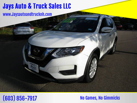 2018 Nissan Rogue for sale at Jays Auto & Truck Sales LLC in Loudon NH
