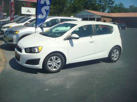 2016 Chevrolet Sonic for sale at Mike Lipscomb Auto Sales in Anniston AL