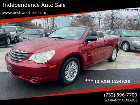 2008 Chrysler Sebring for sale at Independence Auto Sale in Bordentown NJ