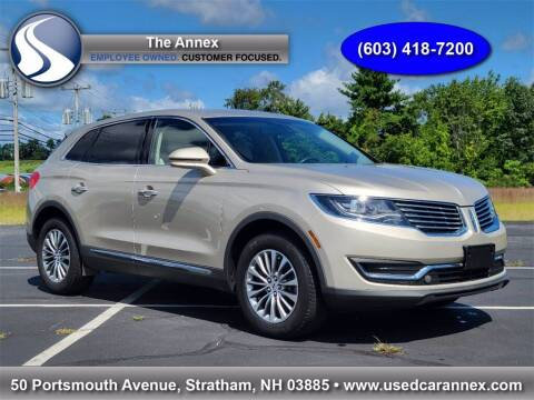2017 Lincoln MKX for sale at The Annex in Stratham NH