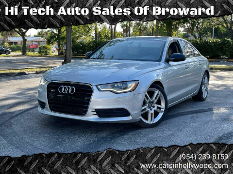 2014 Audi A6 for sale at Hi Tech Auto Sales Of Broward in Hollywood FL