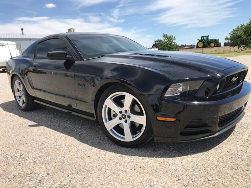 2014 Ford Mustang for sale at Double TT Auto in Montezuma KS