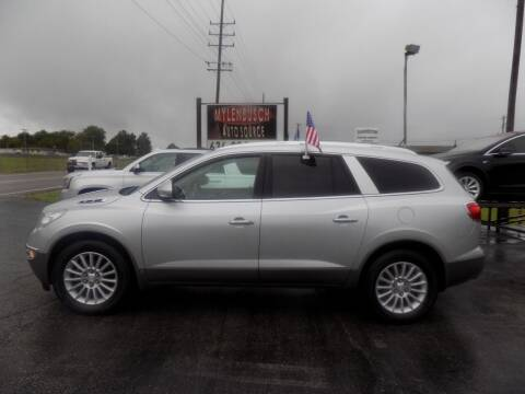 2010 Buick Enclave for sale at MYLENBUSCH AUTO SOURCE in O` Fallon MO