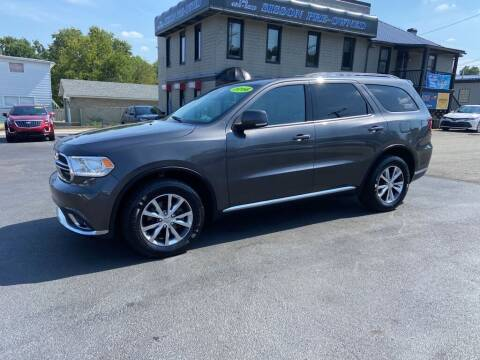 2016 Dodge Durango for sale at Sisson Pre-Owned in Uniontown PA