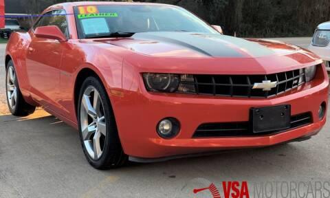 2010 Chevrolet Camaro for sale at VSA MotorCars in Cypress TX