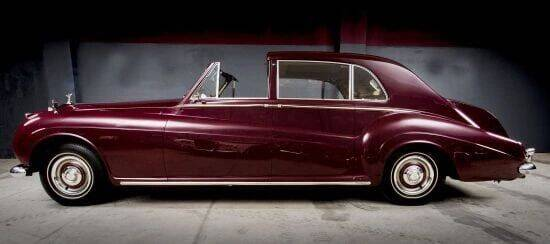 1960 Rolls-Royce Phantom V Sedanca for sale at McQueen Classics in Lewes DE