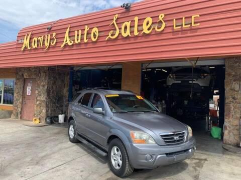 2007 Kia Sorento for sale at Marys Auto Sales in Phoenix AZ