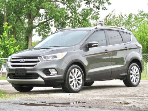 2017 Ford Escape for sale at Tonys Pre Owned Auto Sales in Kokomo IN