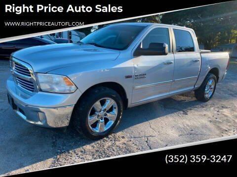 2013 RAM Ram Pickup 1500 for sale at Right Price Auto Sales in Waldo FL