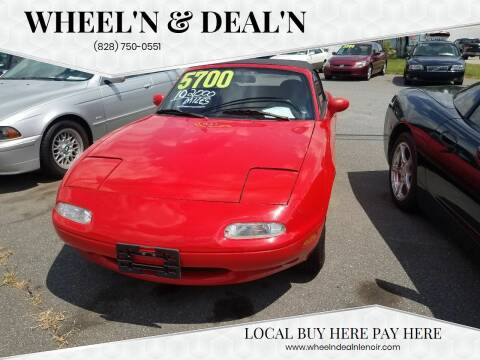 1992 Mazda MX-5 Miata for sale at Wheel'n & Deal'n in Lenoir NC