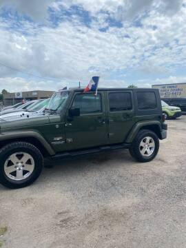 2008 Jeep Wrangler Unlimited for sale at BSA Used Cars in Pasadena TX