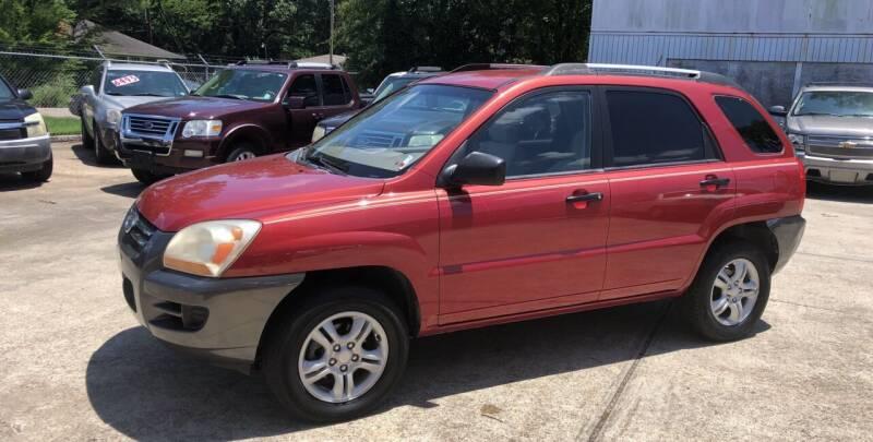 2008 Kia Sportage for sale at Baton Rouge Auto Sales in Baton Rouge LA