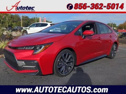 2020 Toyota Corolla for sale at Autotec Auto Sales in Vineland NJ