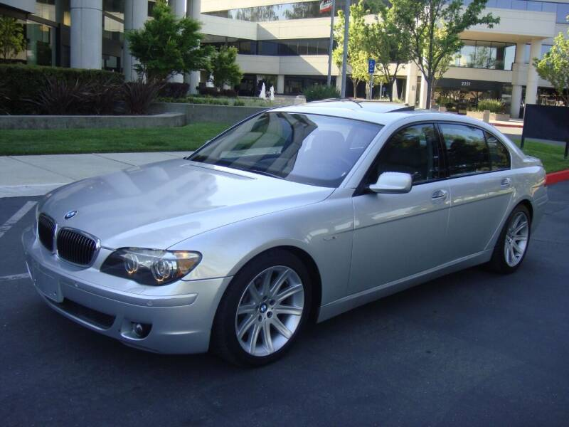 2006 BMW 7 Series for sale at UTU Auto Sales in Sacramento CA