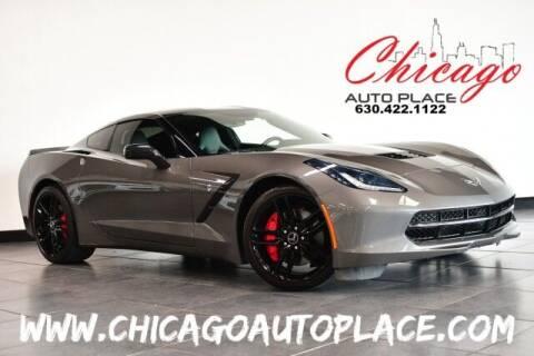 2015 Chevrolet Corvette for sale at Chicago Auto Place in Bensenville IL