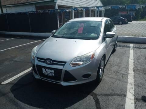 2014 Ford Focus for sale at Hi-Tech Auto Sales Inc. in Petersburg VA