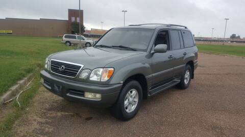 1999 Lexus LX 470 for sale at The Auto Toy Store in Robinsonville MS