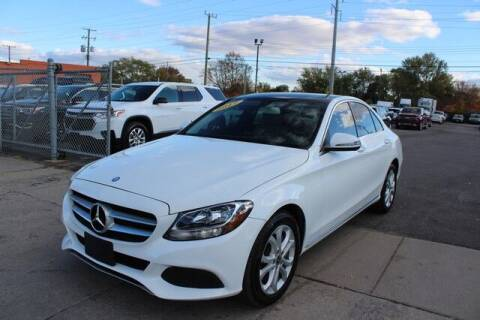 2017 Mercedes-Benz C-Class for sale at Road Runner Auto Sales WAYNE in Wayne MI