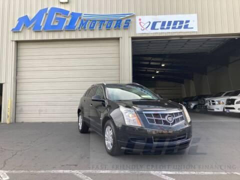 2012 Cadillac SRX for sale at MGI Motors in Sacramento CA