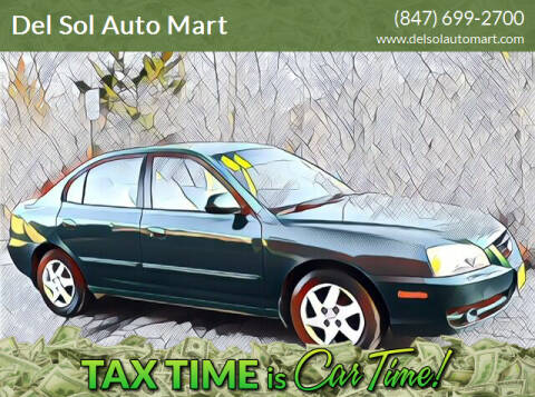 2006 Hyundai Elantra for sale at Del Sol Auto Mart in Des Plaines IL