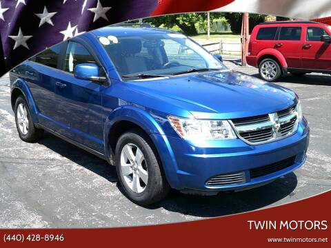 2009 Dodge Journey for sale at TWIN MOTORS in Madison OH