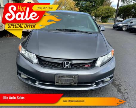 2012 Honda Civic for sale at Life Auto Sales in Tacoma WA