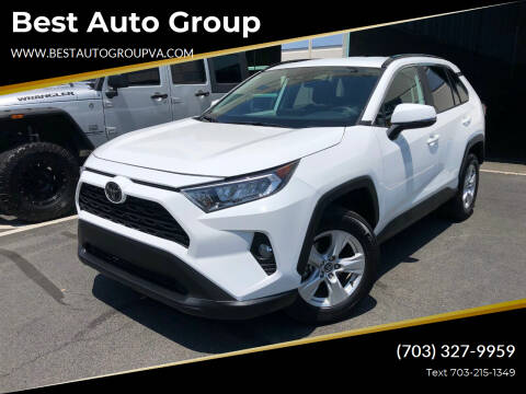 2020 Toyota RAV4 for sale at Best Auto Group in Chantilly VA