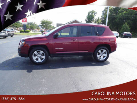 2014 Jeep Compass for sale at CAROLINA MOTORS in Thomasville NC