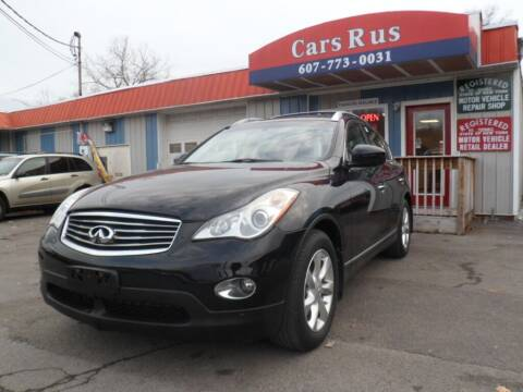 2010 Infiniti EX35 for sale at Cars R Us in Binghamton NY