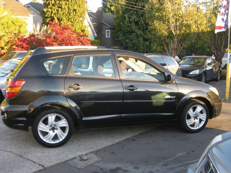 2003 Pontiac Vibe for sale at UNIVERSITY MOTORSPORTS in Seattle WA