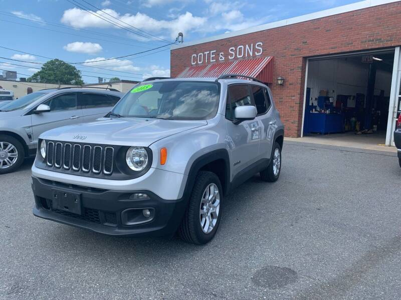 2015 Jeep Renegade for sale at Cote & Sons Automotive Ctr in Lawrence MA