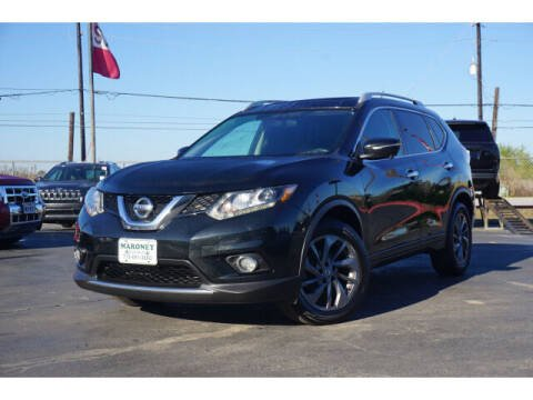 2016 Nissan Rogue for sale at Maroney Auto Sales in Humble TX