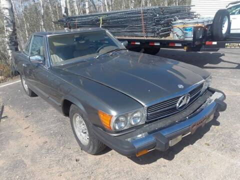 1979 Mercedes-Benz 450 SL for sale at Classic Car Deals in Cadillac MI