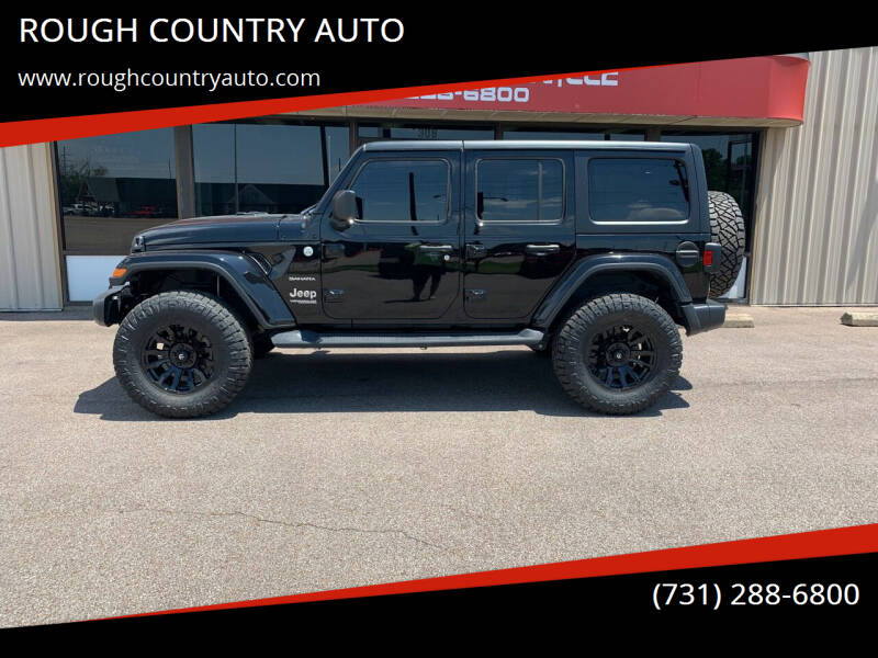 2019 Jeep Wrangler Unlimited for sale at ROUGH COUNTRY AUTO in Dyersburg TN