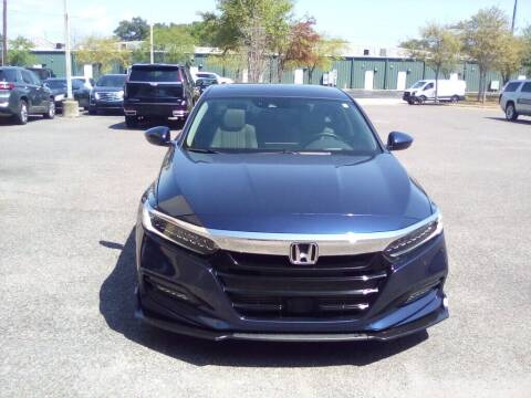 2018 Honda Accord for sale at JOE BULLARD USED CARS in Mobile AL