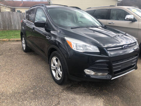 2013 Ford Escape for sale at MYERS PRE OWNED AUTOS & POWERSPORTS in Paden City WV