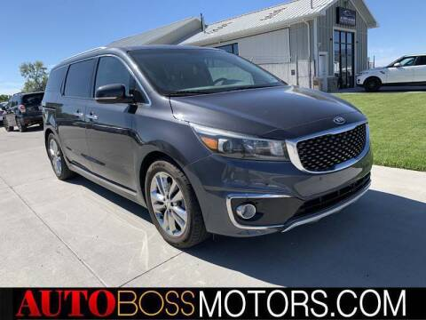 2016 Kia Sedona for sale at Auto Boss in Woodscross UT