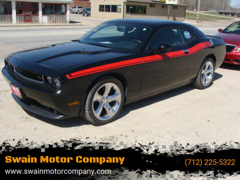 2013 Dodge Challenger for sale at Swain Motor Company in Cherokee IA