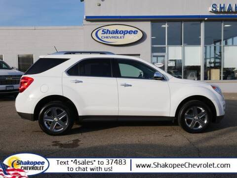 2014 Chevrolet Equinox for sale at SHAKOPEE CHEVROLET in Shakopee MN